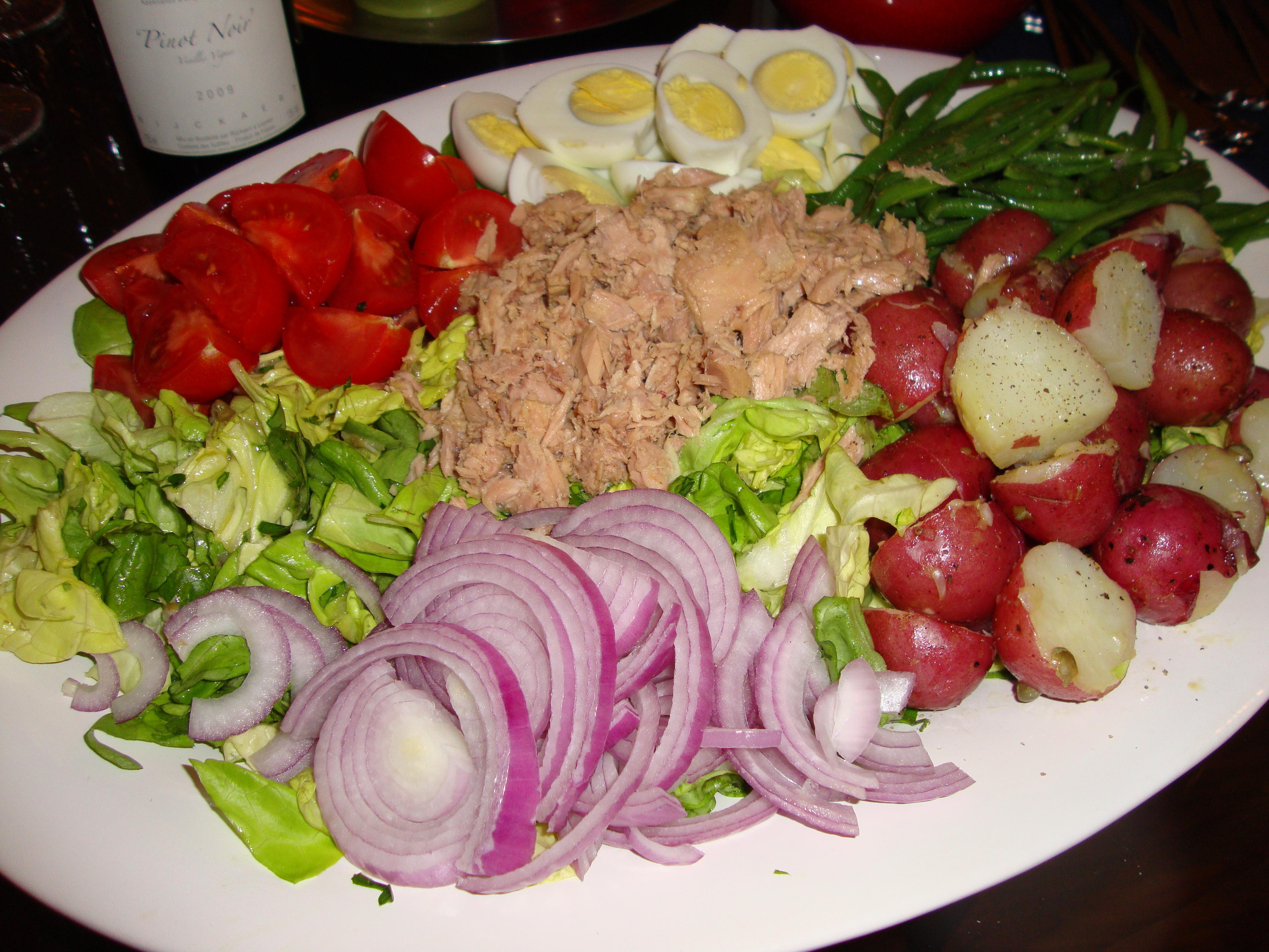 Salade nicoise cuisine francaise part deux taste by taste for Cuisine francaise